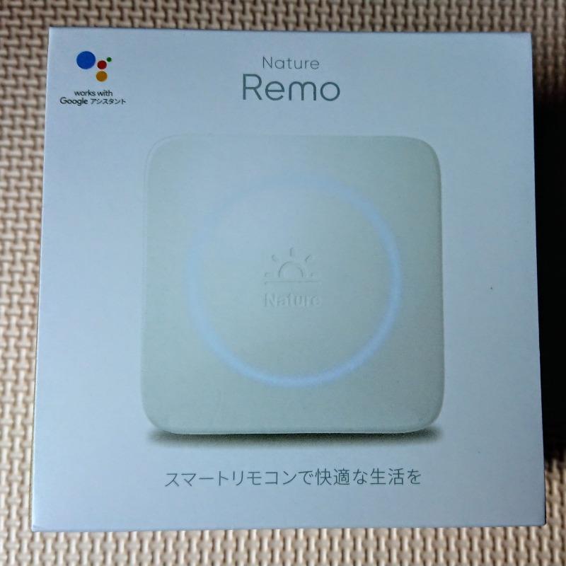 Nature Remoを使用してスマホで家電操作のメイン画像
