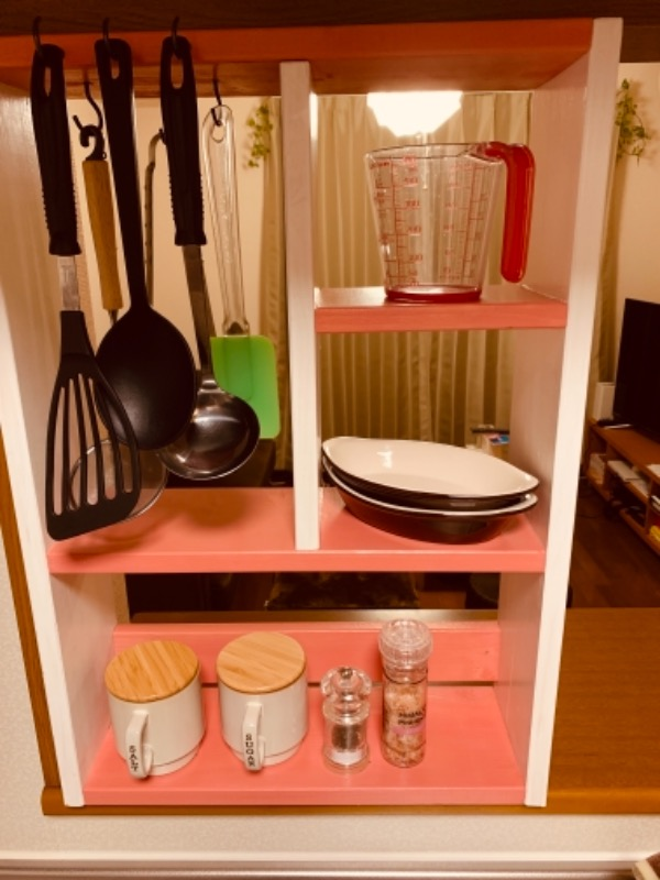 キッチン周りをスッキリ収納(スパイスラック) メイン画像